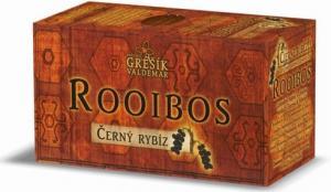 Grešík ROOIBOS černý rybíz porcovaný 20 x 1,5 g