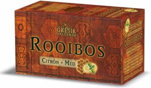 Grešík Rooibos Citrón + Med čaj n.s. 20 x 1,5 g