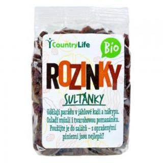 Country Life Rozinky sultánky Bio 200g