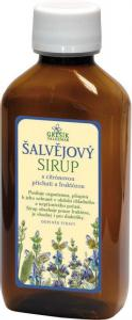 Grešík Šalvějový bylinný sirup 185 ml