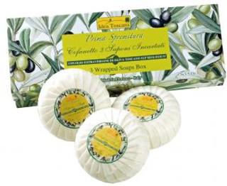 Prima Spremitura Mýdlo v dárkové krabičce 3x100g
