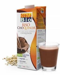 Isola BIO Rýžový nápoj s quinoa a kakaem 1 l