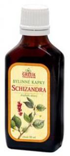 SCHIZANDRA bylinné kapky 50ml Grešík