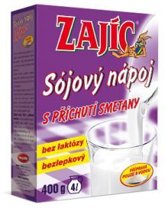 Mogador Sójový nápoj s příchutí smetany Zajíc 400 g sáček