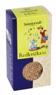 Sonnentor Ředkvička semínka 120g Bio