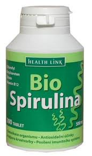 Health Link Spirulina Bio 500mg 300 tbl.