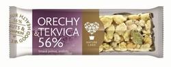 Levně TYČINKA ořechy a dýňové semínko 56% 35g