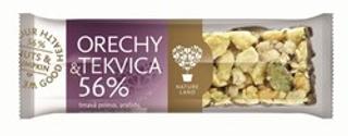 TYČINKA ořechy a dýňové semínko 56% 35g