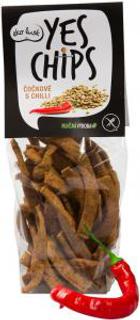 Ekolusk Yes chips bezlepkové čočkové s chilli 80g