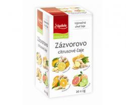 Apotheke Premier Zázvorovo citrusové čaje 4v1 20x2g