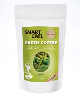 Dragon Superfoods Zelená káva mletá bez kofeinu Arabica 200g Bio