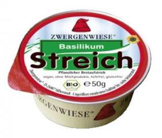 Zwergenwiese Pomazánka s bazalkou 50g Bio