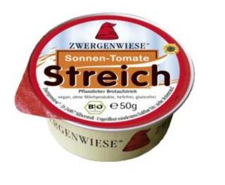 Zwergenwiese Pomazánka Sun-Tomato rajčatová 50g Bio