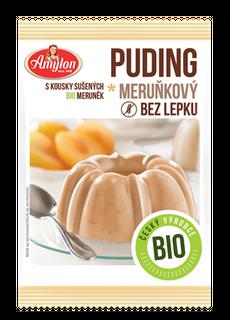 Amylon Meruňkový puding Bio 40 g, bez lepku