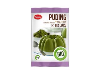 Amylon Puding Matcha Tea ananas bez lepku Bio 40g
