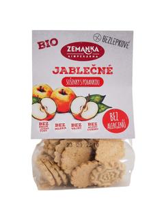 Biopekárna Zemanka Bezlepkové jablečné bio sušenky s pohankou 100g