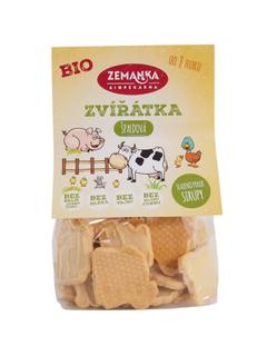 Biopekárna Zemanka Špaldová zvířátka 100 g