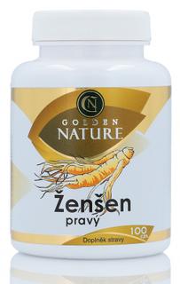 Golden Nature Ženšen pravý 100 kapslí