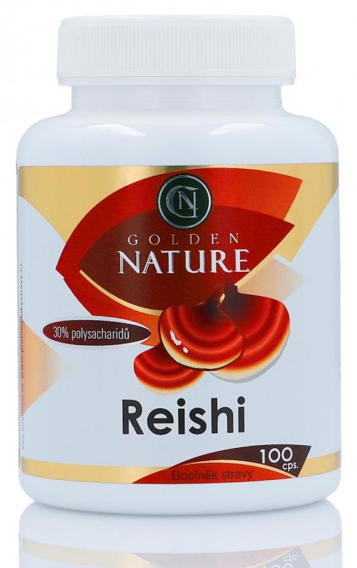 Golden Nature Reishi 100 kapslí