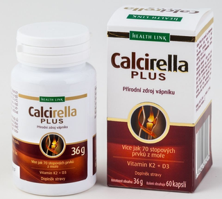 Health Link Calcirella plus 60 kapslí