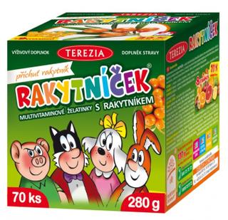 Terezia company Rakytníček Multivitaminové želatinky s rakytníkem 70 ks