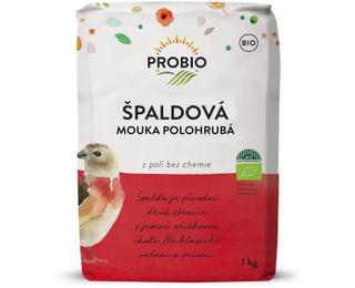 PROBIO Špaldová mouka polohrubá 1kg Bio