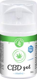 Zelená Země CBD Chladivý gel 50g