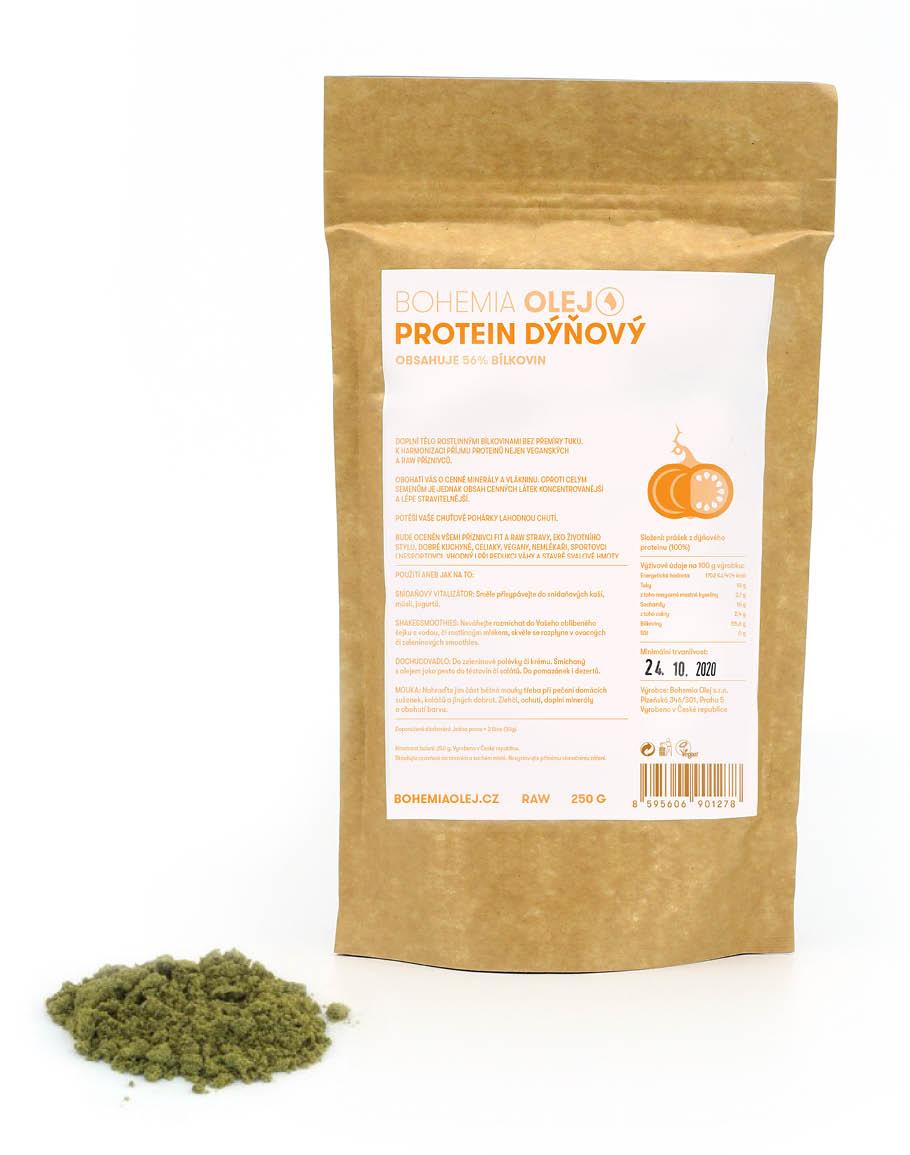Levně Bohemia olej Protein dýňový 250g