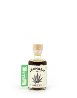 Bohemia olej Olej konopný Cannabis Oil Raw 100ml