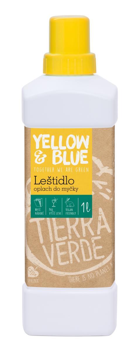 Yellow & Blue Leštidlo - oplach do myčky 1l