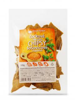 Damodara Chipsy čočkové s majoránkou 100g