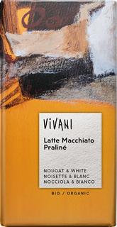 Vivani Čokoláda Latte Macchiato Praliné 100g Bio