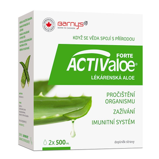 Barnys Activ Aloe Forte 2 x 500 ml