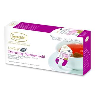 Ronnefeldt LeafCup Darjeeling bio čaj sáčky 15 x 2,5 g