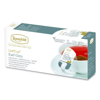 Ronnefeldt LeafCup Earl Grey čaj sáčky 15 x 2.3 g