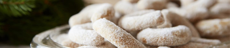 Recept Celozrnné vanilkové rohlíčky