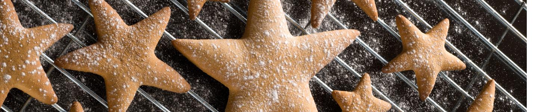 Recept Mandlové hvězdičky
