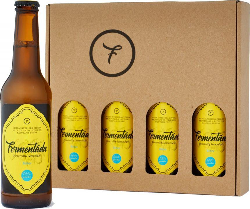 Fermentáda Bitter Lemon Multipack 4x330ml