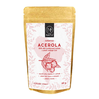 NATU Acerola prášek 60g Bio