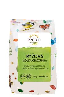 PROBIO Mouka rýžová celozrnná 450g Bio