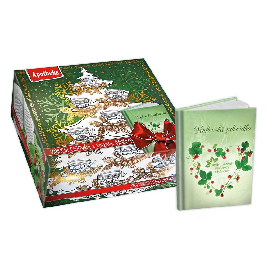 Apotheke Dárková kolekce čajů s herbářem 90x2g