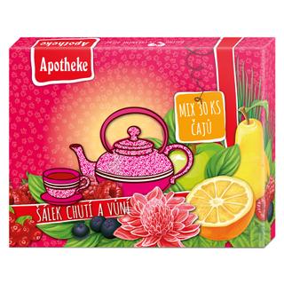 Apotheke Dárková kolekce prémiových čajů Šálek chutí a vůní 30x2g