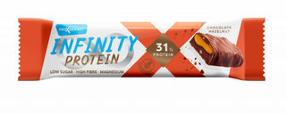 Maxsport Tyčinka Infinity Protein čokoláda a lískové oříšky 55g
