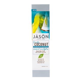 Jason Zubní pasta Simply Coconut eukalyptus 119g