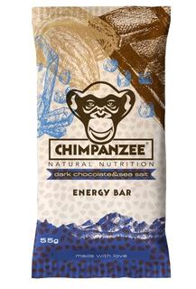 Chimpanzee Energy Bar hořká čokoláda a mořská sůl 55g
