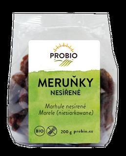PROBIO Meruňky nesířené 200g Bio