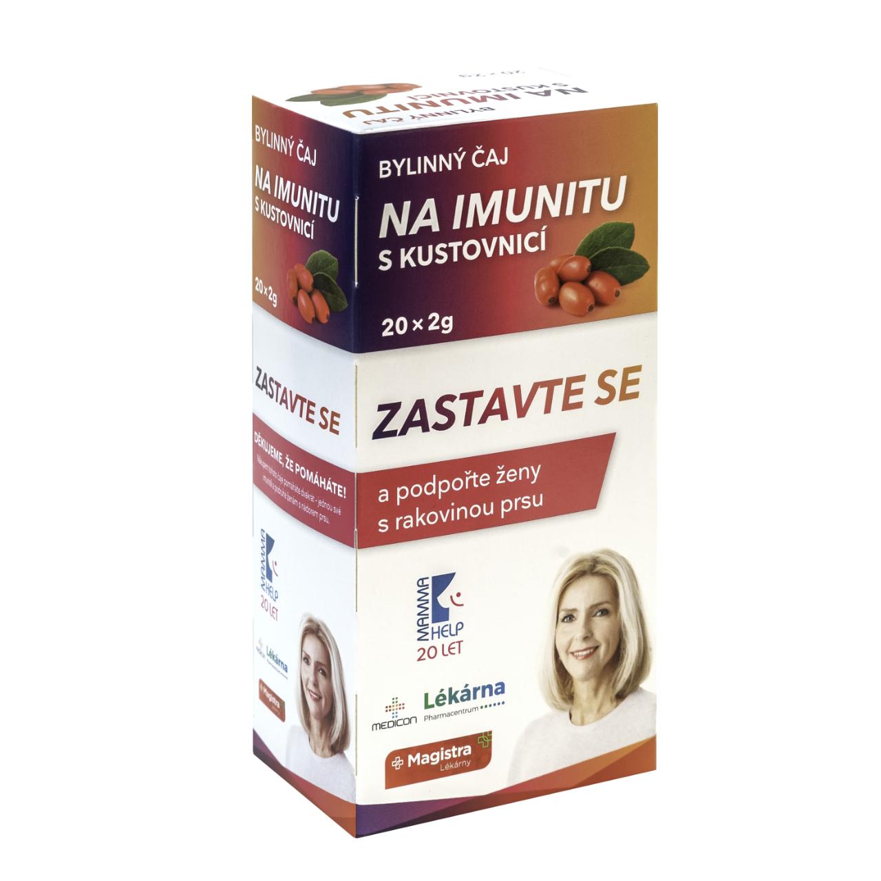 Mamma Help Bylinný čaj na imunitu s kustovnicí 20x2g