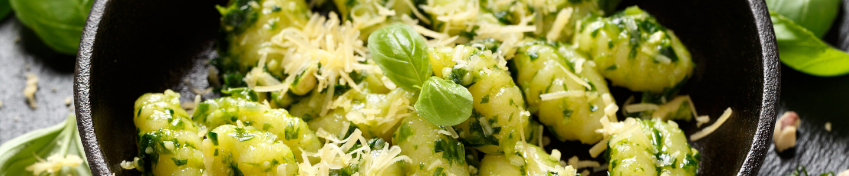 Recept Noky se špenátem a a čerstvým sýrem