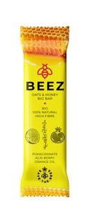 Maxsport Beez Bar granátové jablko + acai + pomerančový olej 40g Bio