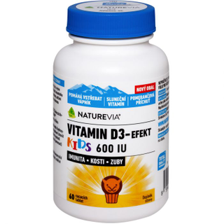 Vitamin D3 Efekt Kids 60 tablet